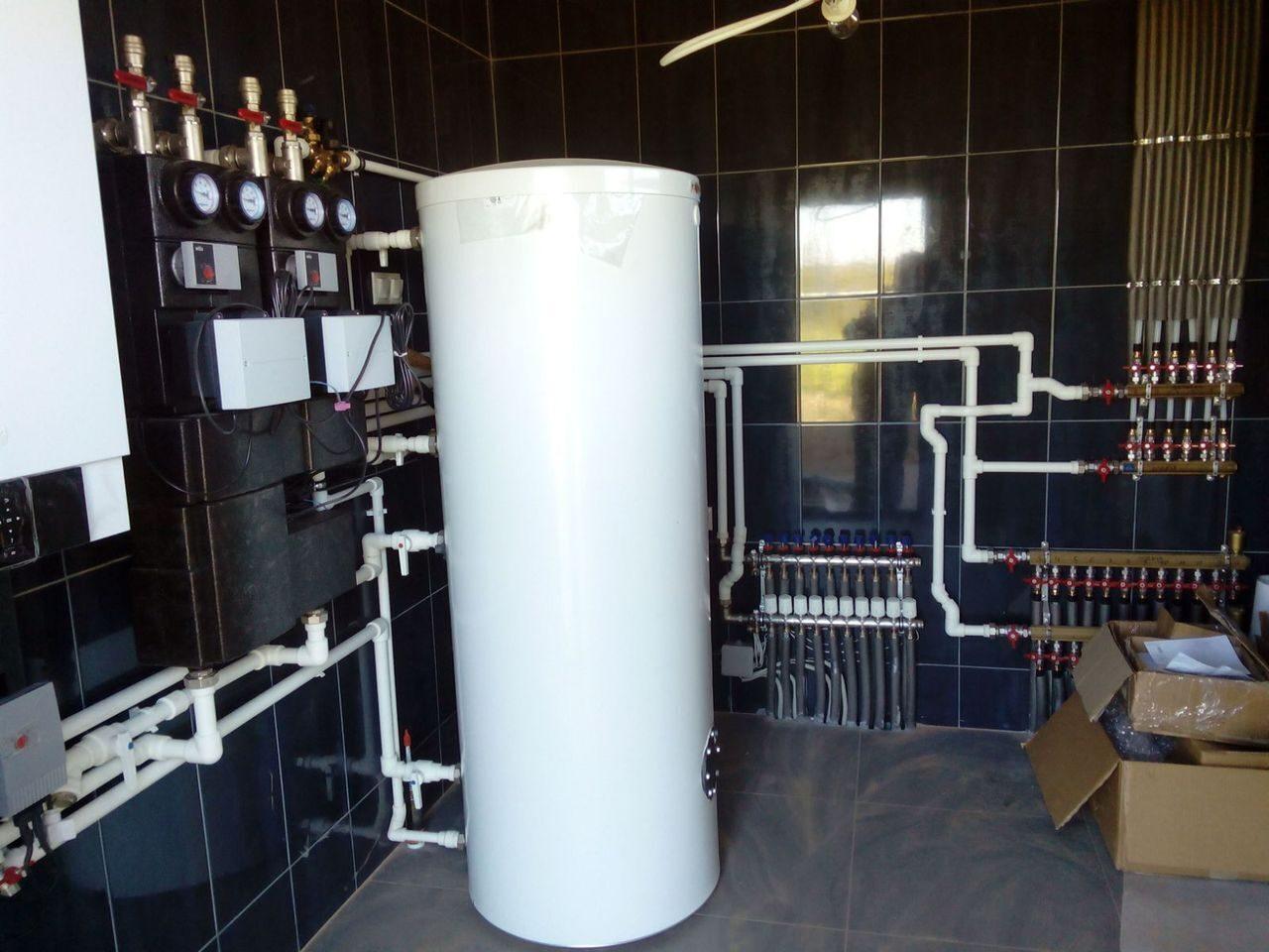 Загородный дом отопление радиаторами